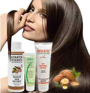 Brazilian complex hair Keratin Blowout Treatment Moroccan Argan oil full set 270