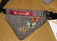 6957_Angeldog_Hundekleidung_Hundehalstuch_Hundehalsband mit Tuch_chihuahua_Xs