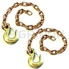 Gripon 35-inch G70 Trailer Safety Chain With 38inch Clevis Snap Hook 2 Pack