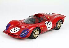 BBR 1966 Ferrari 330 P3 Spider #27 24Hr Le Mans 1:18 & Display LE MIB PRE-ORDER