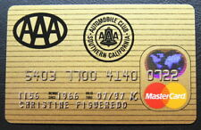 MasterCard from AAA Credit Card 1997