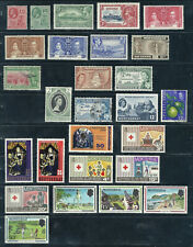 BRITISH OVERSEAS TERRITORY BOT MONSERRAT LOT OF 27 STAMPS SEE SCANS