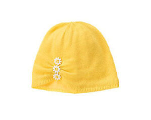 NWT GYMBOREE FLOWER SHOWER YELLOW SWEATER HAT 6-12M 12-24M 2-3T