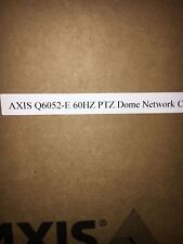 New Axis Q6052-E Ptz Dome Network Camera 60Hz Network Surveillance White