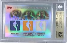 2003-04 Topps Contemporary Collection Red /50 Marko Jaric Gilbert Arenas BGS 9.5