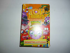 Moshi Monsters  Monstro-Citizens PROMO  Mini Top Trumps trading card set
