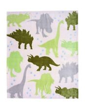 Extra Large Dino Printed Fleece Blanket Boys Kids Children Bed Travel Throw