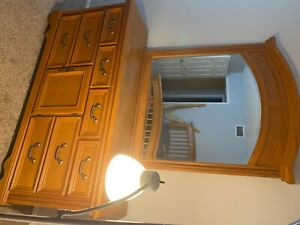 dresser and night stand!! Lamp included if necessary