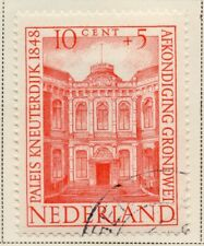 Netherlands 1948-49 Early Issue Fine Used 10c. NW-11723