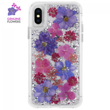 Case-Mate Karat Petals Case For  iPhone X / iPhone XS - Purple