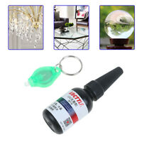 UV Glue Curing Adhesive Transparent Crystal Glass Repair Tool Liquid Glue sl