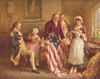 American Patriotic Artwork Canvas Art Print Jean Leon Gerome Ferris Small 8x10