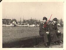 21528/ Originalfoto 10x13cm, Luftwaffe, Piloten, DKG, Greifswald 1944