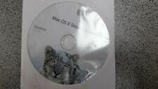 Apple MacBook Mac OS X Install Disc 10.6. Mac OS X Snow Leopard Software Upgrade