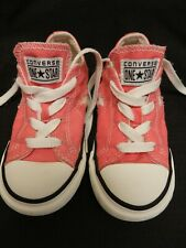 CONVERSE ONE STAR ~ Toddler Girl Hot Pink Shoes Low Top Chuck Taylor Girl's ~9