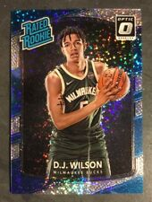2017-18 Panini Optic White Sparkle SP D.J. Wilson RC Milwaukee Bucks