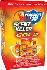 Hunters Personal Care Kit Scent Killer Gold Get Ready For The Hunt!