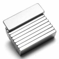 10pcs Super Strong Neodymium Block Magnets N52 Rare Earth Rectangular 25x10x3 mm