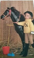 KNITTING PATTERN for Sindy/Barbie  Dolls cloths 4Ply 6754