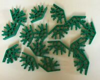 16 KNEX GREEN 4 WAY CONNECTORS FOR CONSTUCTION BUILDING TOYS IMAGINATION