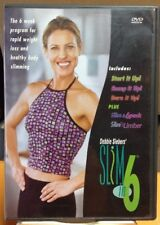 Debbie Seibers Slim in 6 Rapid Weight Loss & Exercise Training Beachbody 2 Dvd