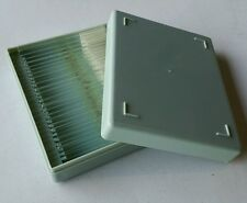 """Case of 12 Eisco INVOLUNTARY SMOOTH MUSCLE Prepared 1x3"""" Glass Microscope Slides"""