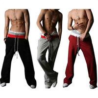 Men's Casual Sport Sweat Pants Harem Training Dance Baggy Jogging Trousers h