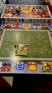 """NSW / CRL Rugby League Board Game """"MMI BIG GAME""""  RARE Complete-1990-Vintage"""