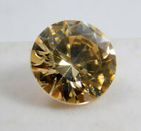 12.00Ct. Natural Translucent Round Excellent Cut Cambodian Pink Loose Zircon E