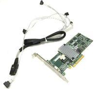 1U Supermicro 4 Bay Raid 5, 6 512MB SAS SATA 6Gb/s PCIe x8 HB w/ cable