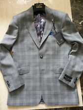 06a964228 BNWT mens TED BAKER DEBONAIR wool check jacket blazers size 38 or M RRP £320
