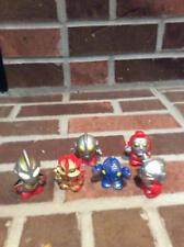 Six Ultraman Thumb Figures 1 1/2 Inches