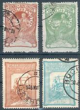 Rumänien Lot aus Mi.-Nr.173/176o, 162/166o (MICHEL EURO 28,00) feinst