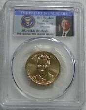 2016-D Ronald Reagan Presidential Dollar Coin PCGS MS67 Position B