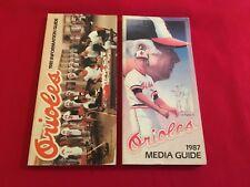 1980-2018 MLB Baltimore Orioles media guide / You pick 'em / Murray / Ripken
