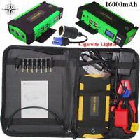 Jump starter booster Démarreur batterie voiture 16000 mAh 600A haute capacite