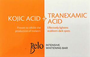 Belo Kojic Acid & Tranexamic Acid Intensive Lightening & Brightening Bar 65g x 3