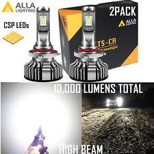 Alla Lighting LED Direct Fit 9005 Headlight High Beam Light Bulb Super Bight 6K