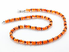 Natürliche Echtschmuck-Halsketten & -Anhänger aus Sterlingsilber Granate