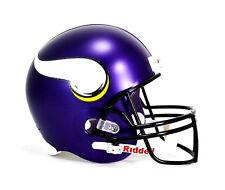 Anuncio nuevoMinnesota Vikings NFL equipo insignia Riddell Casco de fútbol  de tamaño completo lujo f22906ceb7b