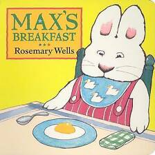 Max's Breakfast (Max and Ruby)-ExLibrary