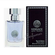 Versace Pour Homme Eau de Toilette Spray 1.0oz 30ml * New in Box Sealed *