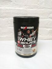 Six Star Pro Nutrition Elite Series Whey Isolate Protein Powder Vanilla Cream