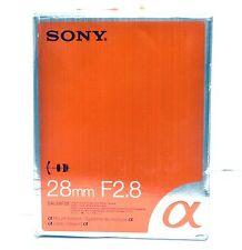 Sony SAL28F28 28mm F/2.8 Lens