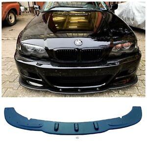 Spoilerlippe Schwert aus ABS mit ABE passend für 3er BMW E46 mit M3 Stosstange