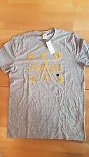 NEU Hollister A&F T-Shirt Herren M S grau Herrenshirt Jungen 176