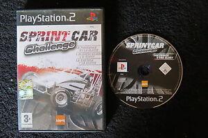 PS2 : SPRINT CAR CHALLENGE - ITA ! Slittamenti e collisione ad alta velocità !