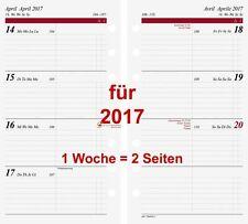 Rido Timing2 Kalendarium 2017 1Woche=2Seiten A6 Kalender 2017 70-6991017