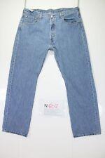 Levis 501 One Wash (Cod. N607) tg52 W38 L30 jeans usato Vintage Original retrò