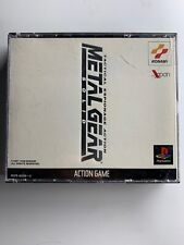 Metal Gear Solid Genkosuikoden 2 Japan Rare PSX PS1 No Manual